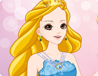A Beautiful Princess Dress Up