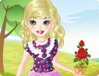 Anny in the Garden Dress Up