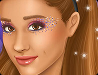 Ariana Grande Real Make-up