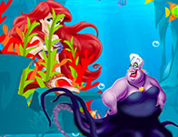 Ariel Vs Ursula Magic Pearl
