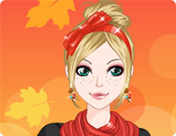 Autmun Girl
