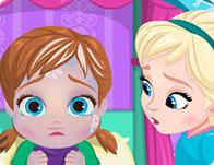 Baby Anna Frostbites