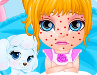 Baby Barbie Chickenpox Attack