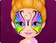 Baby Barbie Hobbies Face Painting