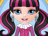 & Baby Barbie Monster High Costumes - Girl Games