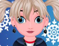 Baby Elsa Back To School Haircut