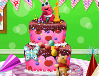 Baby First Birthday Cake Girl Games