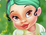 Baby Frog Princess Makeover