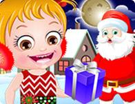 Baby Christmas Bath - Girl Games