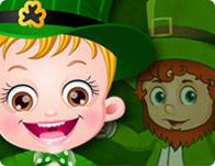Baby Hazel St Patrick's Day