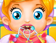 Baby Lizzie Dentist Girl