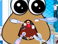 Baby Pou Dentist