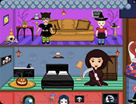 baby princess halloween doll house girl games