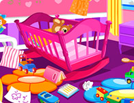 baby room designer girl games