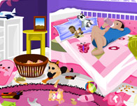 Baby Room Clean Up Girl Games