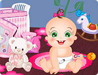 Baby Rosy Bedroom Decoration