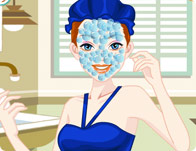 العاب تنظيف البشرة بنات