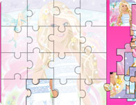 Barbie Beauty Puzzle