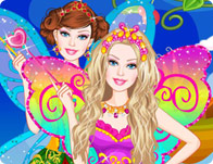 Barbie Fairy Secret Dress Up