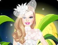 Barbie Fairytale Bride Dress Up