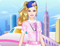 Barbie Flight Attendant Dress Up