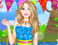 Rave Party Dress Up - Girl Games