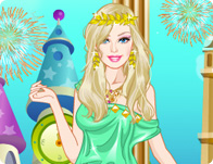 Barbie Greek Princess Dress Up