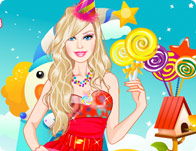 Barbie in Candyland