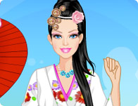 Barbie in Japan Dress Up