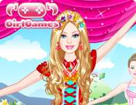 Barbie In Pink Shoes Dress Up Games