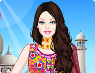 Barbie Indian Princess Dress Up