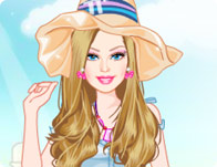 Barbie Lüks Balayı Giydirme - Barbie Luxurious Honeymoon Dress Up oyna