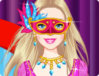 Barbie Masquerade Princess Dress Up