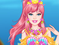 Barbie Modern Mermaid Dressup