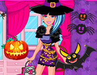 barbie monster high halloween - Halloween Fashion Games