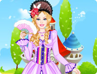 Barbie Rococo Princess Dress Up