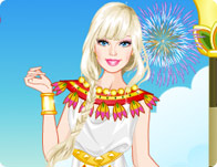 Barbie Roman Princess Dress Up