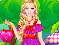 Barbie Romantic Princess Dress Up