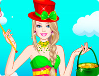 Barbie St. Patrick's Day Dress Up