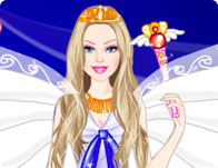 Barbie Wind Princess Dress Up