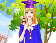 Barbie's Graduation Day Dress Up
