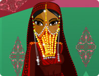 Bedouin Bride tile