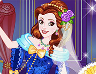 Belle Wedding Dress up