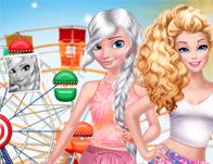 Boho Summer Festival Besties