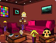 Brown Living Room Escape
