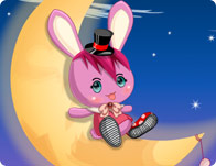 Bunny on the Moon Dress Up