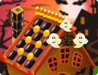 Candy Halloween House tile