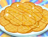 Caramel Waffles