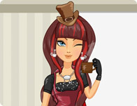 Cerise Hood in Hat-Tastic Tea Party