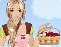 Cherry Look Dress Up